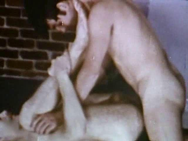 Vintage Bareback - Hairy Muscle Daddy 2 1979