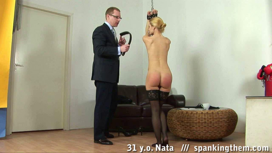 Sexy teacher gets spanked