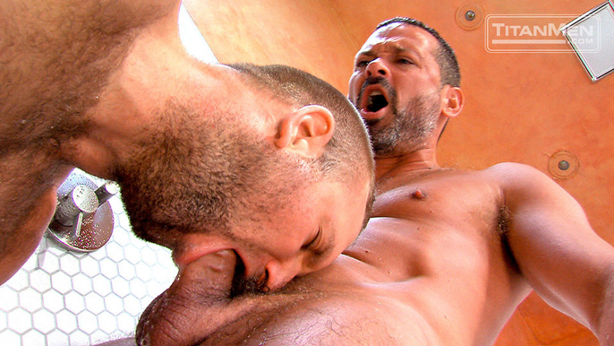 Wet Scene 3 Tom Wolfe and Will Swagger