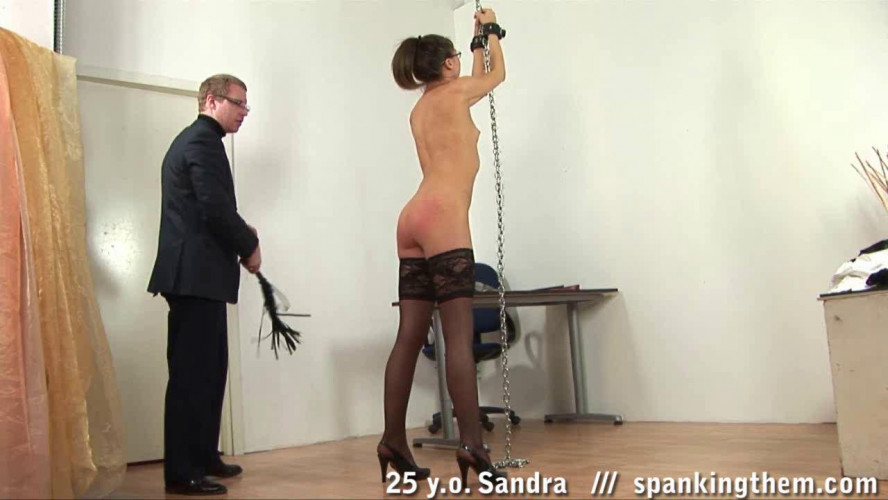 Sandra spanked till orgasm (some teachers must be taught too)