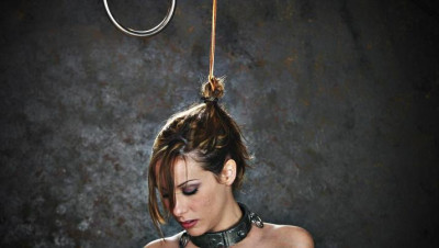Hot bitch and torture with hair