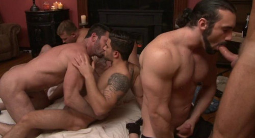 My first gay orgy