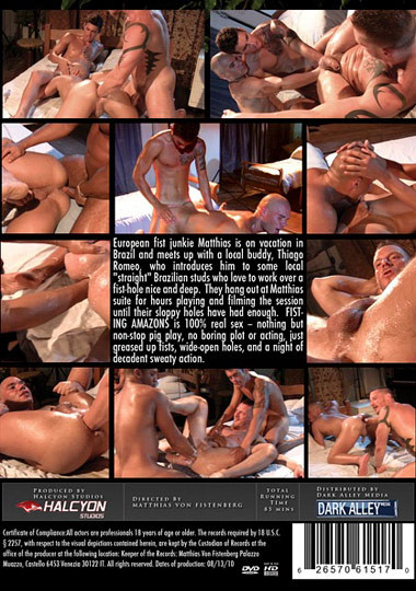 Dark Alley Media,  Halcyon Studios - Fisting Amazons