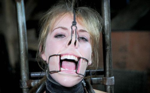 Sweet girl in BDSM