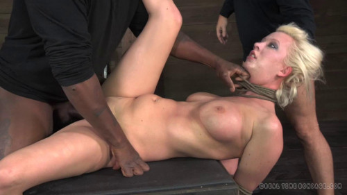 Tagteamed Cherry Torn Utterly Destroyed By Cock Brutal Deepthroat Massive 10 Inch Bbc