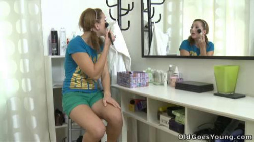 OldGoesYoung.com - Sveta and her lover bring an older friend who loves younger women into their play.