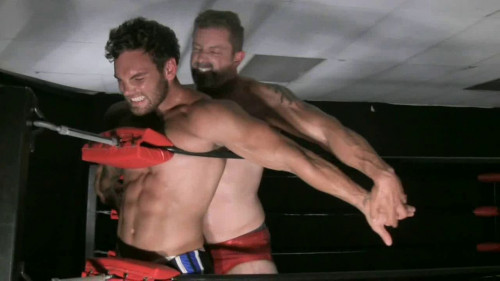 Gay muscle domination video
