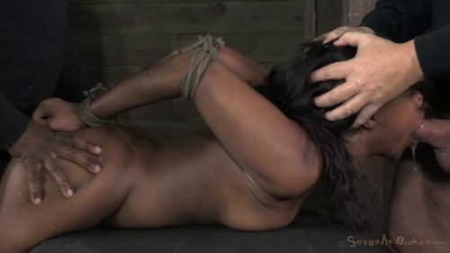 Chanell Heart fucked hard and put away wet Brutal deep throat (2014)