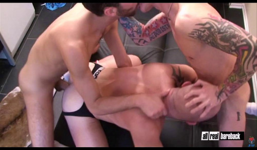 In his first Bareback movie ever