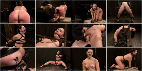 Kink Device Bondage - Made to suffer, made to cum - restrictive bondage equals squirting orgasm
