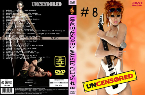 Uncensored and Uncut Music Videos  8 DVD5 2010
