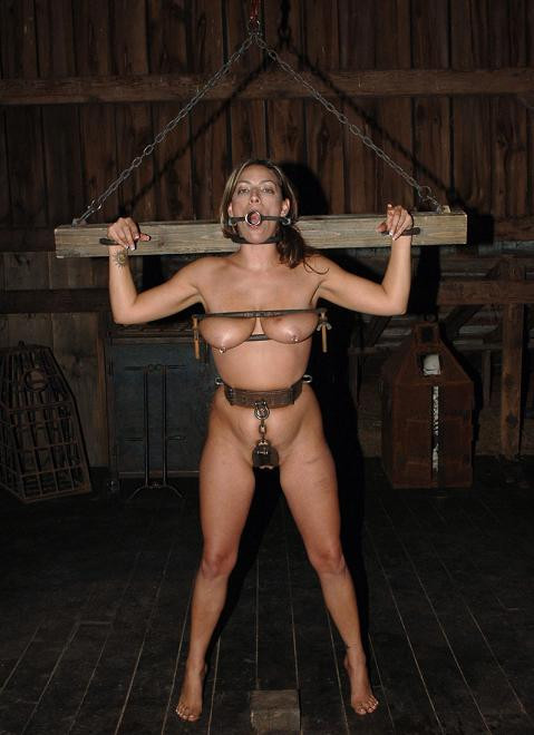 Sexy model for BDSM